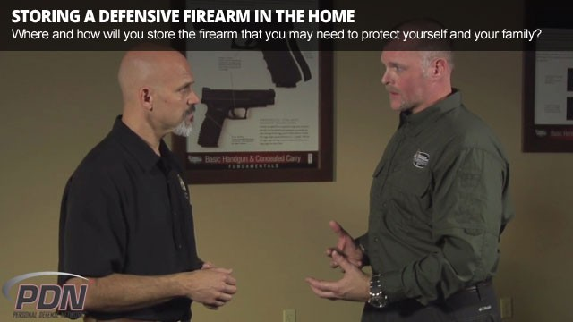 Storing a Defensive Firearm in the Home - Featured Free Video