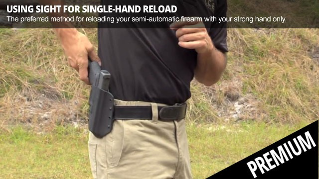 Using Sight for Single-Hand Reload - Featured Premium Video